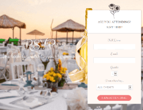 Fungsi Online RSVP Pada Wedding Website