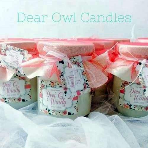 Dear Owl Candles